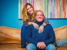 Peter en Désirée Boelhouwer vielen tijdens slagroomgevecht als een blok voor elkaar