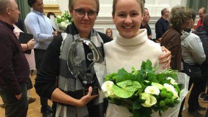 Triatlete Hanne Peeters (17) wint Sportjuweel