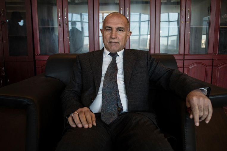 Nofal Sultan, de gouverneur van Mosul. Beeld Hawre Khalid