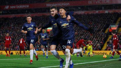 LIVE. Tweede helft begonnen: blijft Liverpool ook na rust baas tegen Man United mét invaller Fellaini?