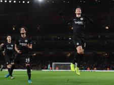 Eintracht stunt zonder Dost bij Arsenal