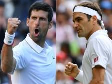 """Federer confiant avant sa finale contre Djokovic: """"Les étoiles sont alignées"""""""