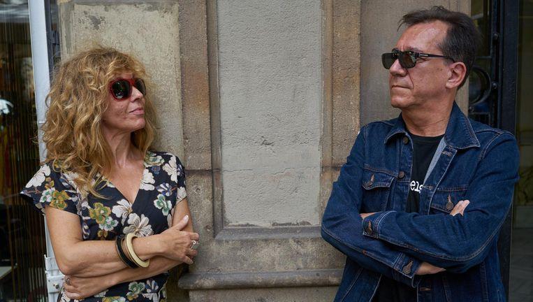 Verdeelde vriendschap in Barcelona: Rosa Robles en Joan Vinyals. Beeld Samuel Aranda