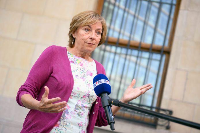 Frédérique Jacobs, porte-parole interfédéral Covid-19.