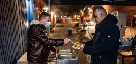 Daklozenstraat drukker door kou en coronaregels