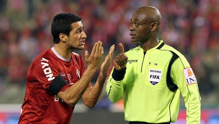 Mohammed Messoudi verloor zaterdag de bekerfinale met KV Kortrijk tegen Lokeren.