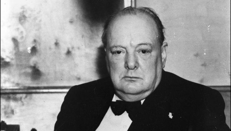 Winston Churchill was eerste minister van Groot-Brittannië van 1940 tot 1945 en opnieuw van 1951 tot 1955.