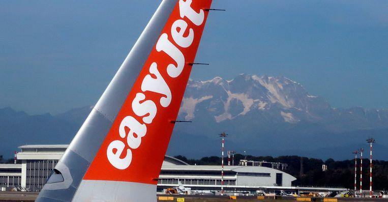De elektrische vliegtuigen waarop EasyJet mikt, bieden volgens Greenpeace voorlopig geen oplossing. Beeld Reuters