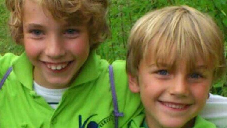 De broertjes van 9 jaar (Ruben) en 7 (Julian). Beeld Politie