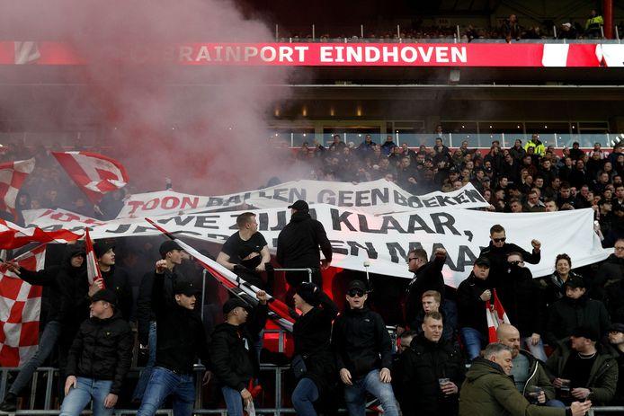 Fans van PSV.