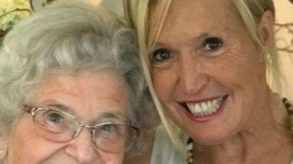 Sonja Kimpen moet afscheid nemen van haar mama