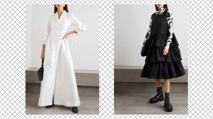 Winnares van modewedstrijd op Netflix toont haar collectie op Net-a-Porter