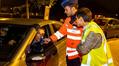 Provinciale politiecontroles: we rijden nuchterder maar sneller