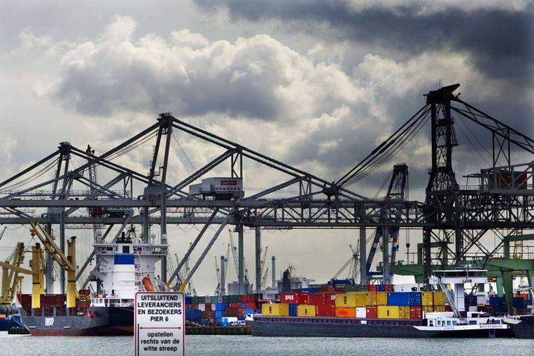 De haven van Rotterdam (ANP) Beeld