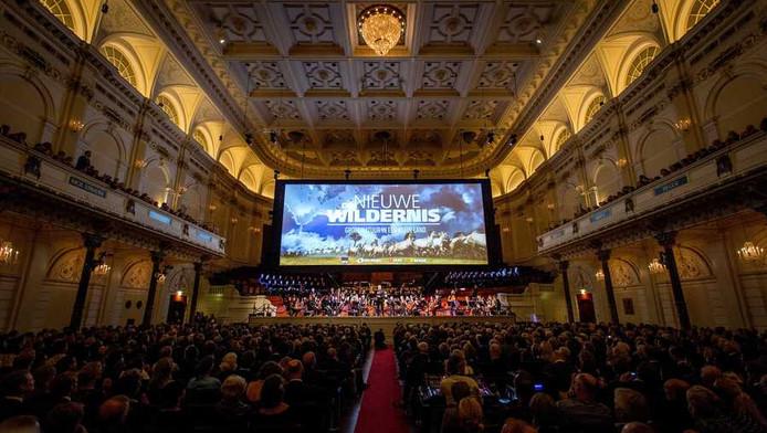 Het Metropole Orkest verzorgde de muziek tijdens de premiere