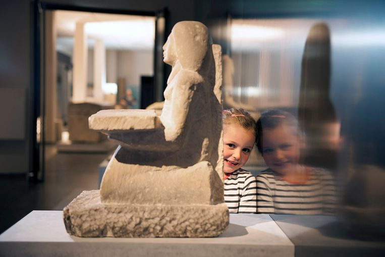Expo mummies in Brugge.