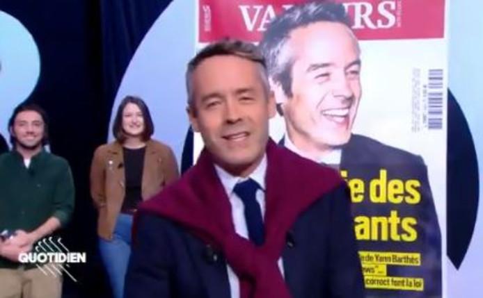 """Yann Barthès a répondu à l'enquête de """"Valeurs Actuelles"""""""