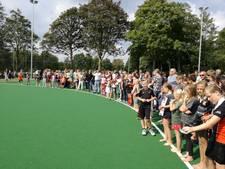 Hockeyclub Kromme Rijn in Bunnik neemt waterveld in gebruik