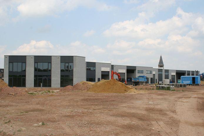 De eerste fase van de bouw van 'de Drie Tommen'  is bijna klaar