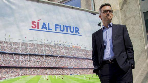 Victor Font is de man achter het project 'Si al futur ('Ja aan de toekomst') van FC Barcelona.