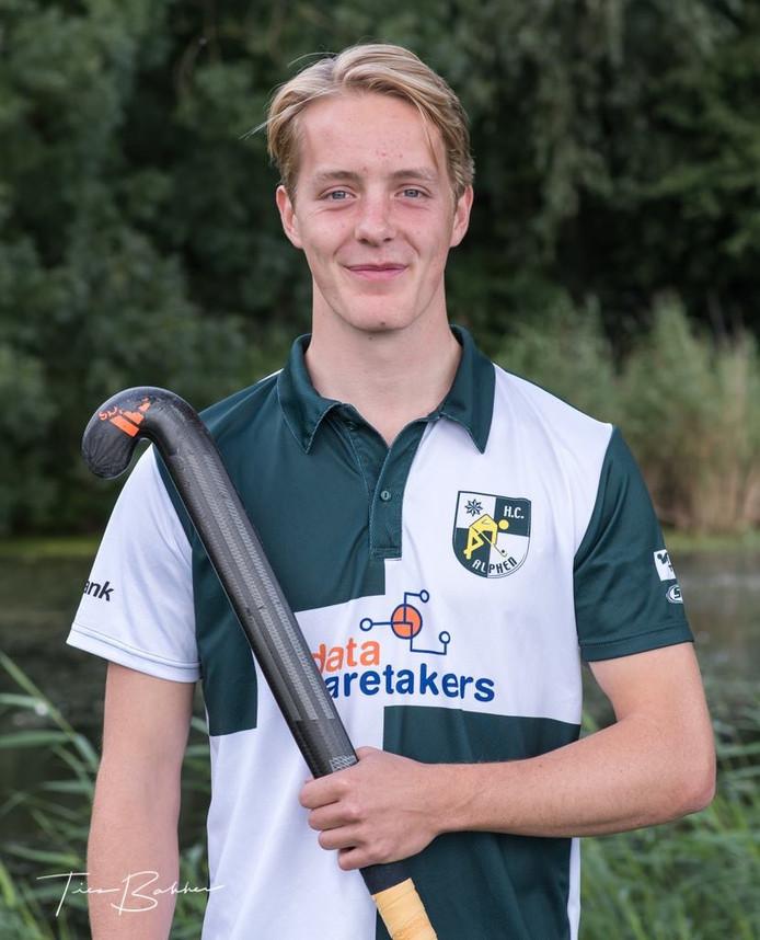 Floris Wever, speler van HCA 1