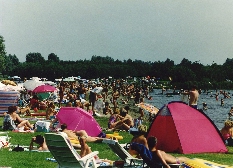 Recreatiegebied Het Twiske in 1991.