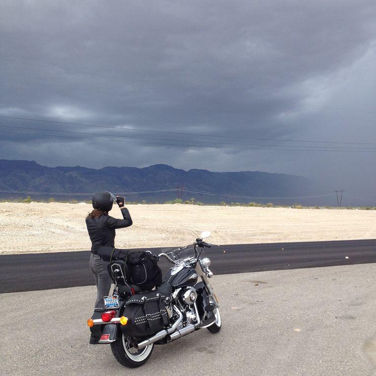 Robin de Puy, Nevada. Beeld Simone de Vries