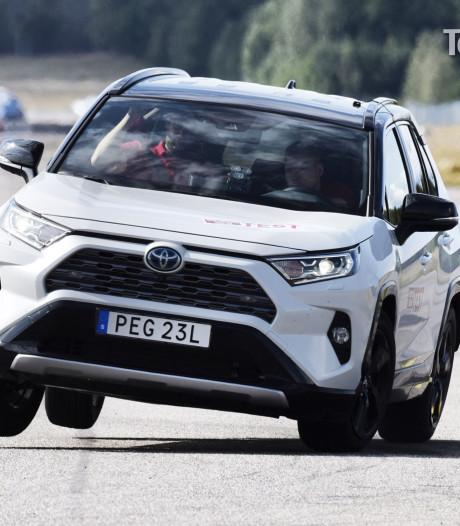 Toyota RAV4 faalt bij elandtest volgens Zweeds autoblad