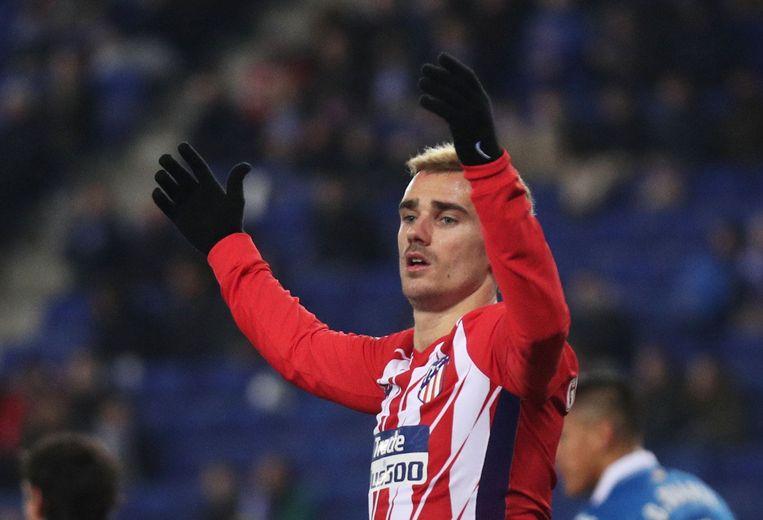 In de eerste seizoenshelft liep het allemaal wat minder bij Griezmann en Atlético, onder meer met de uitschakeling in de Champions League.