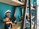 Zeeuws en Zo verkoopt ook 'exclusieve' cadeaus, zoals deze maritieme beeldjes.