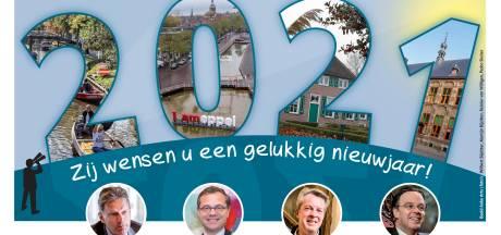 Na verdrietig jaar stappen burgemeesters in Kop van Overijssel hoopvol 2021 in: 'Het wordt een jaar van volhouden'