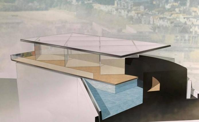 Architect Taco Tuinhof heeft het ontwerp getekend.