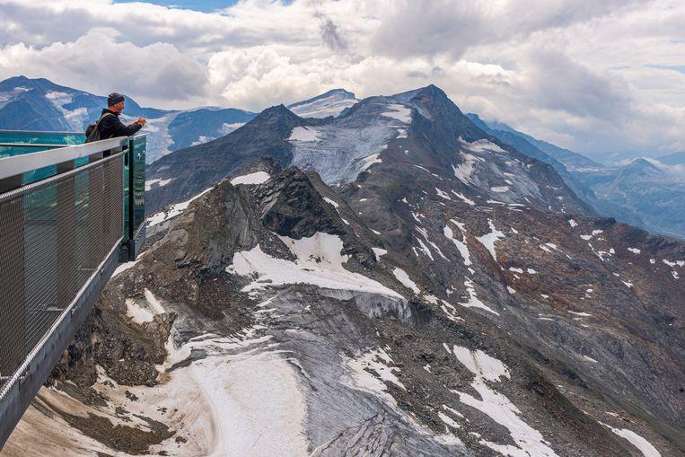 Uitzichtpunt bij de gletsjer Kitzsteinhorn. Beeld Jessica de Korte