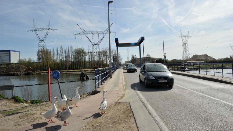 De Willemsbrug in Grimbergen werd pas in april gesloten voor herstelling.