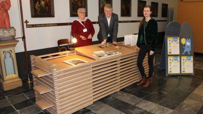 Bezoekers Sint-Katelijnekerk worden ontvangen aan nieuwe onthaalbalie
