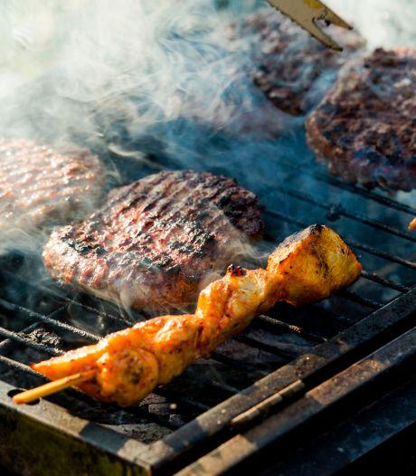 Gezin Venray onwel door binnen barbecueën