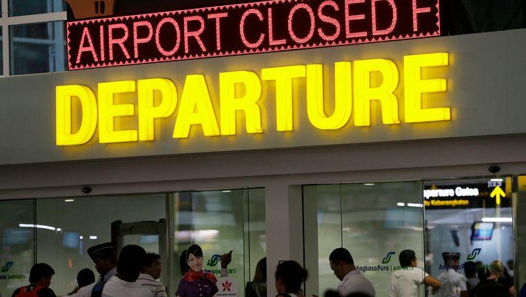 De internationale luchthaven Ngurah Rai op Bali. Beeld epa