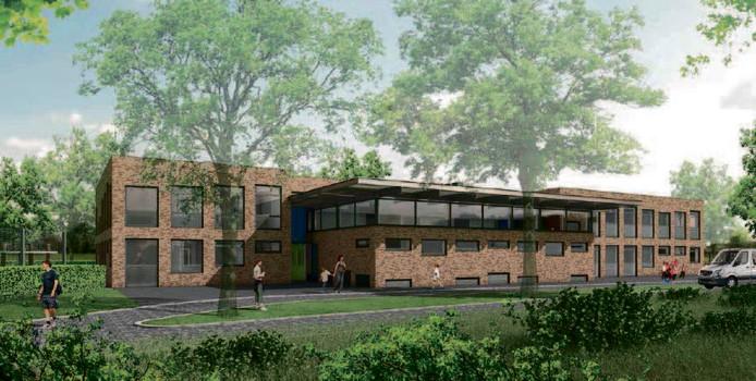 School voor speciaal onderwijs De Lelie in Harderwijk start donderdag 26 oktober met de nieuwbouw aan de Thorbeckelaan.