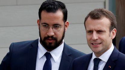 """Macron: """"Ik kreeg schimmige berichten van ontslagen veiligheidsmedewerker"""""""