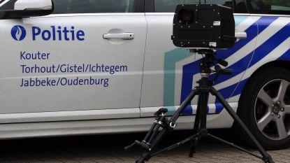 Politie Kouter houdt deze week 2 aangekondigde snelheidscontroles