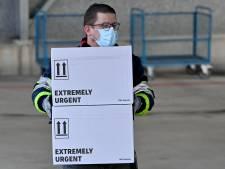 L'aéroport d'Ostende se prépare à la distribution des vaccins