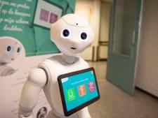 Sociale robots in ZGT Hengelo tijdens e-Healthweek