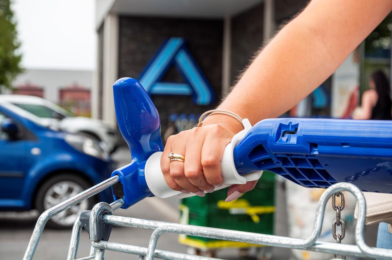 Iedereen z'n eigen set handgrepen voor supermarktkarretjes, dat is het idee achter de CGripp.