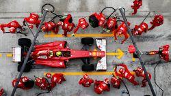 """""""FIA neemt brandstofleidingen van Ferrari in beslag"""""""