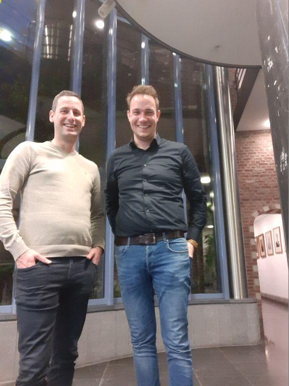 Michiel Vermeiren en Sander Loots.