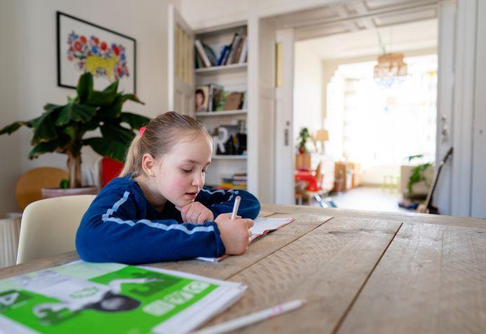 Veel scholen stellen een thuiswerkpakket samen of maken gebruik van digitale lesmethodes, nu scholen een aantal weken zijn gesloten door het coronavirus.