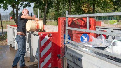 Recyclagepark Evergem vanaf maandag weer open op gewone openingsuren
