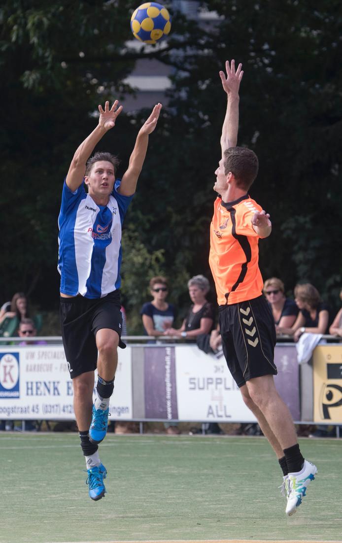 Marvyn Toonen in actie voor KV Wageningen. Archieffoto