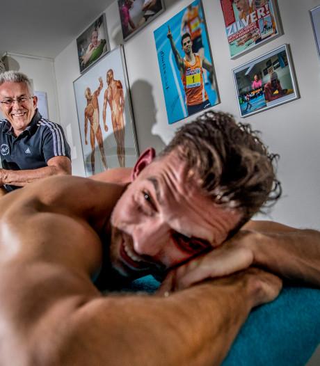 Atleten zweren bij gouden handen van Apeldoornse sportmasseur Theo Bosch