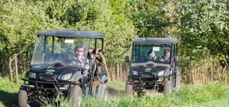 Met een e-buggy op safari in Winterswijkse wildernis